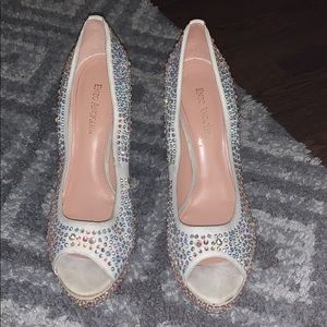 Crystal covered pumps